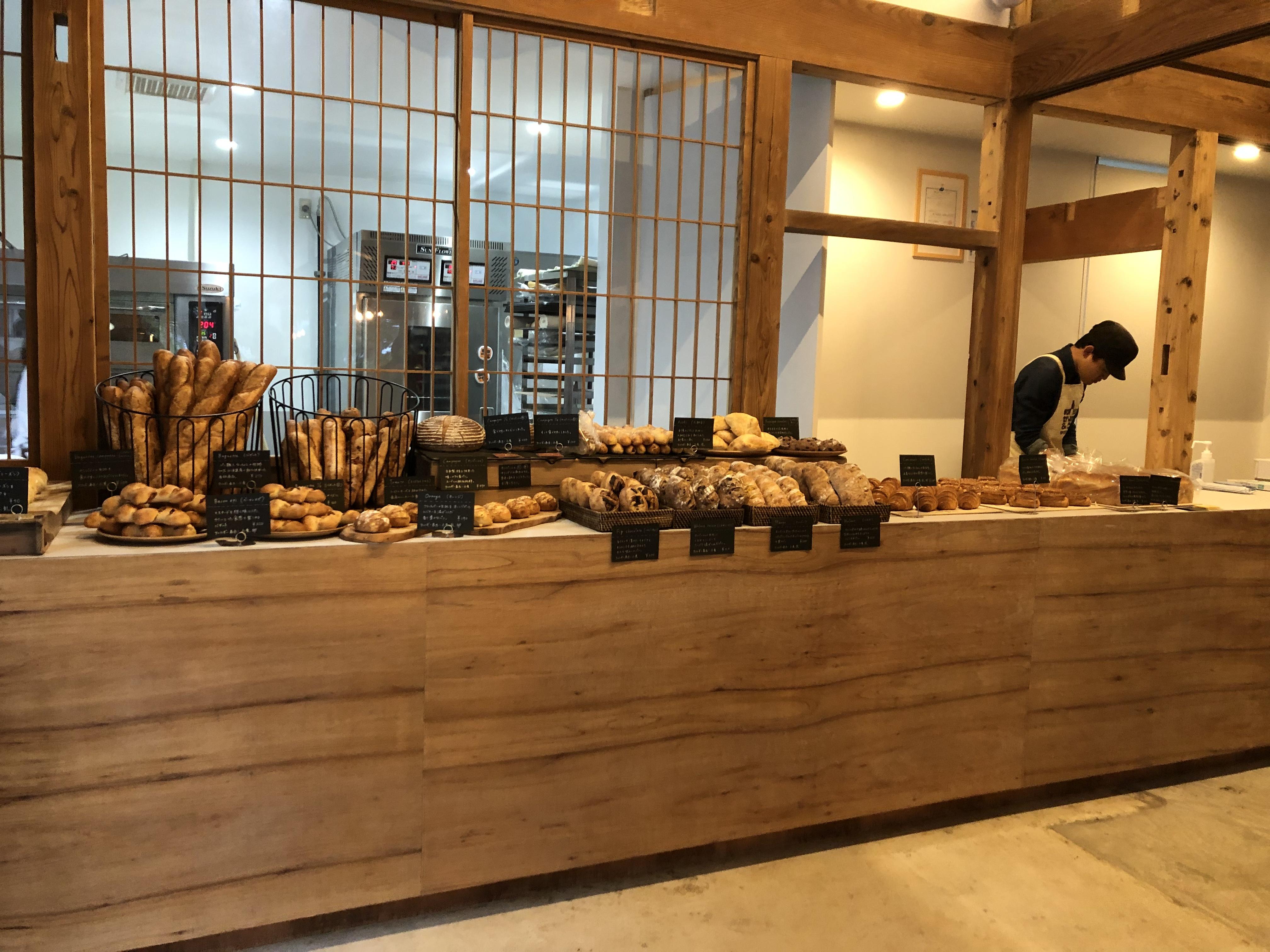 五島の新しいパン屋さん